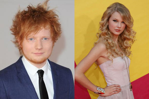 Taylor Swift bakes for Ed Sheeran