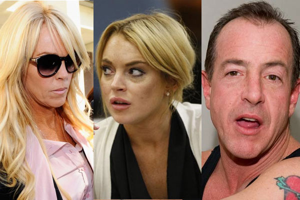 Lindsay Lohan's hysterical call to her dad.
