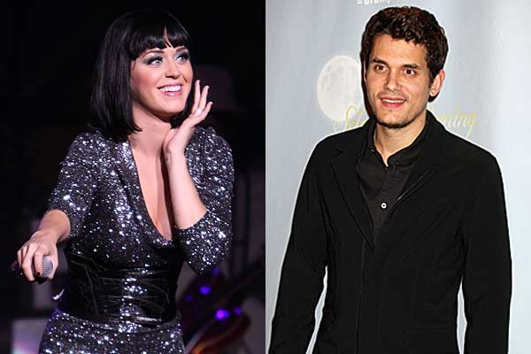 Katy Perry out and about with John Mayer at the weekend