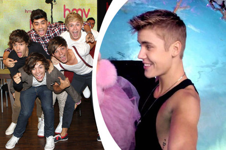 One Direction vs Justin Bieber