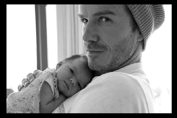 Baby Harper Beckham gets her first official hobby
