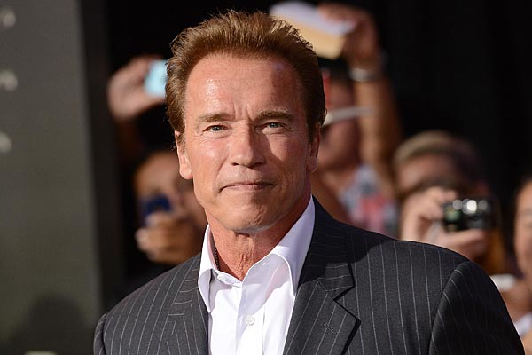 Arnold Schwarzeneggar is trying  to get his family back together