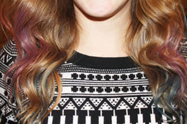 DIY: Hair Chalking