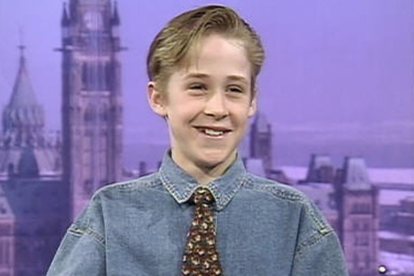 Ryan Gosling as a 12 yr old
