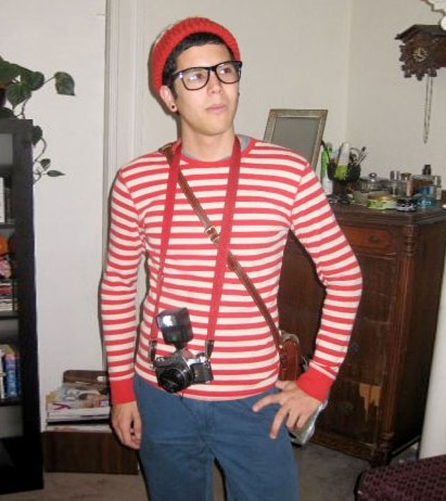 Hipster Wheres Wally.