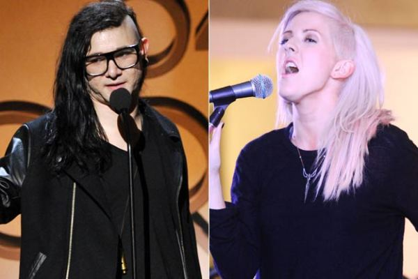 Ellie Goulding splits from Skrillex