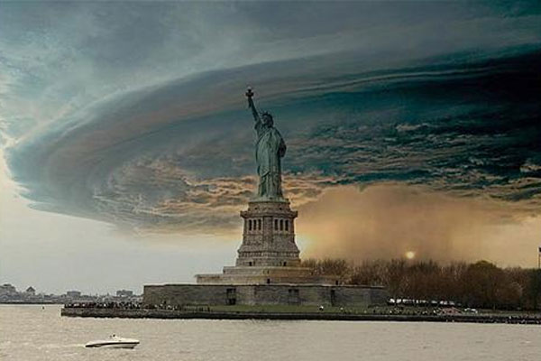 Fake Hurricane Sandy pictures