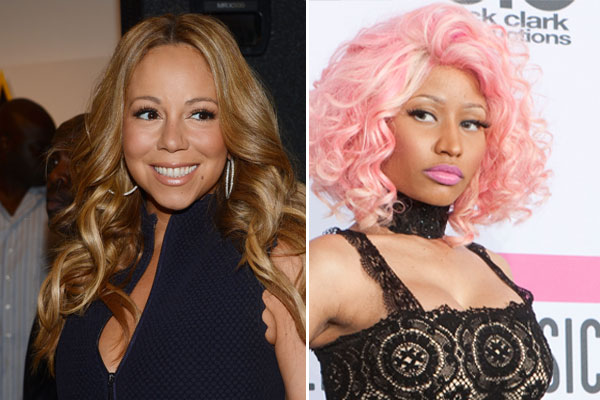 The Nicki Minaj and Mariah Carey fued continues