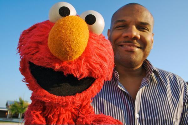 The voice of Elmo has been stood down from Sesame Street