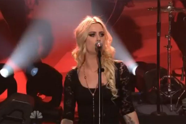 Gin Wigmore performs on the Jay Leno Show!