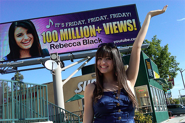 Rebecca Black is back