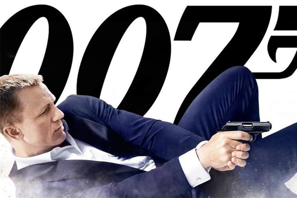 James Bond is here