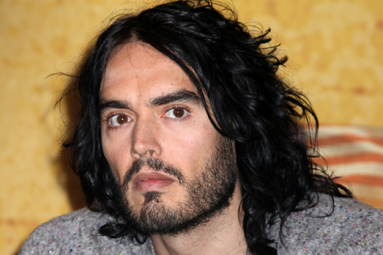 Russell Brand is in NZ