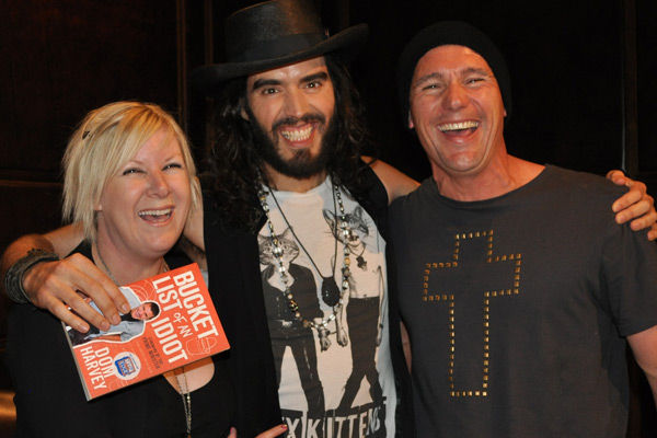 Jay-Jay and Dom talk to Russell Brand