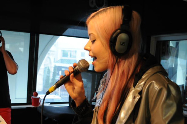 Ruby Frost live in studio