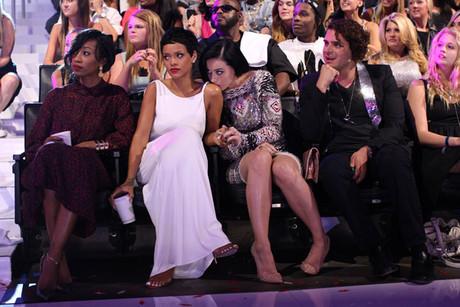 katy and Rihanna