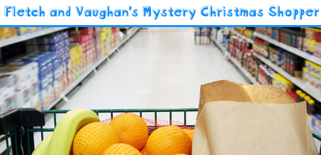 Fletch and Vaughan's Mystery Christmas Shopper
