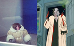 "Cruella Deville in ""101 Dalmations"""