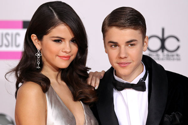 Justin and Selena have a public spat