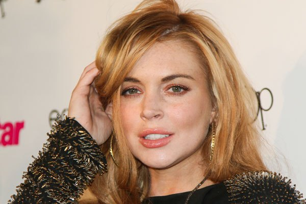 After one trouble free week, Lindsay Lohan is back in the news