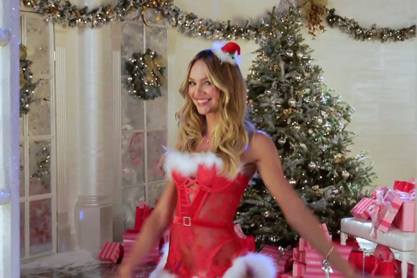 The Victoria's Secret Angels sing 'Deck the Halls'