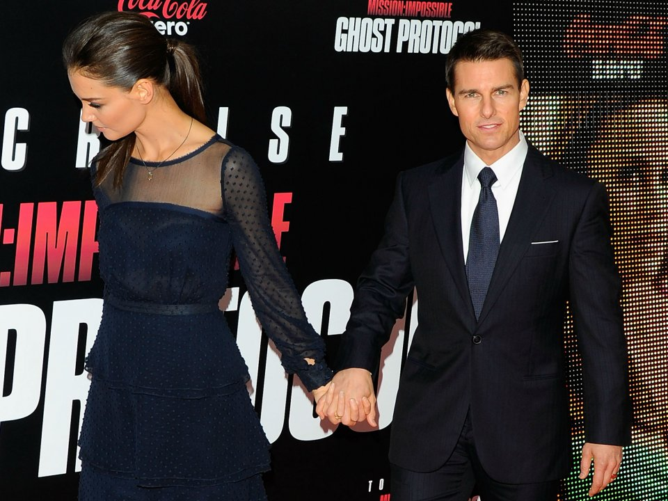 Katie Holmes and Tom Cruise shag again?