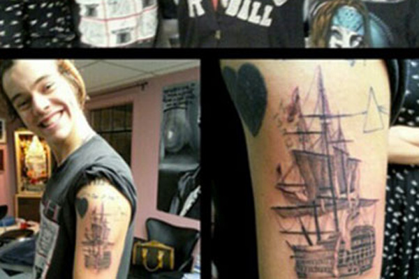 One Direction star's new tattoo