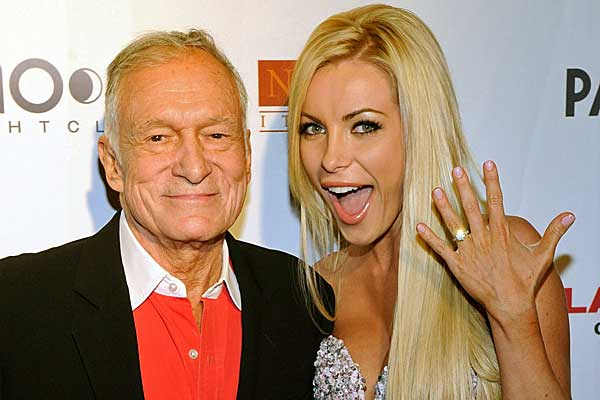 Hugh Hefner to marry his runaway bride