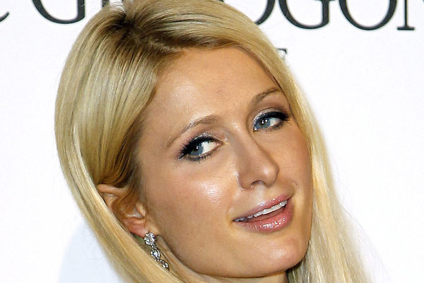Paris Hilton spread some festive cheer