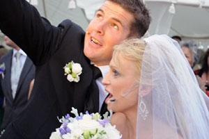 Shock wedding