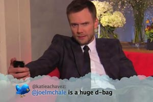 Celebs read our tweets about themselves - hilarious!