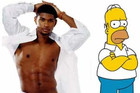 Usher and The Simpsons