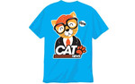 "Based on the Fletch and Vaughan radio segment ""Cat News"" Tales of miraculous survival and the crazy adventures of cats in news. Wear this t-shirt and your cat will love you even more."