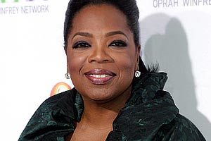 Oprah helps out a homeless man