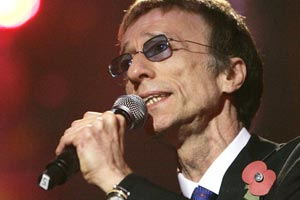 Bee Gees star released from hospital