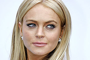 Lindsay Lohan chanting away her troubles