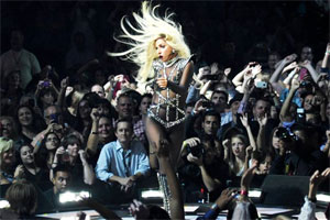 Lady Gaga's routines make her sick