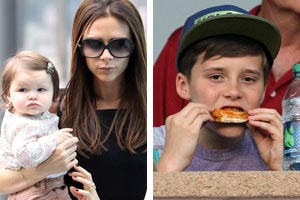 Victoria Beckham forgets one of her kids