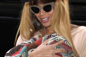 How did Beyonce lose all her baby weight?