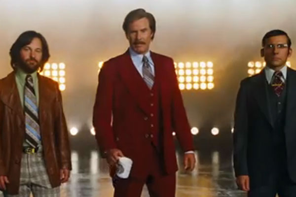 Teaser trailer for Anchorman 2
