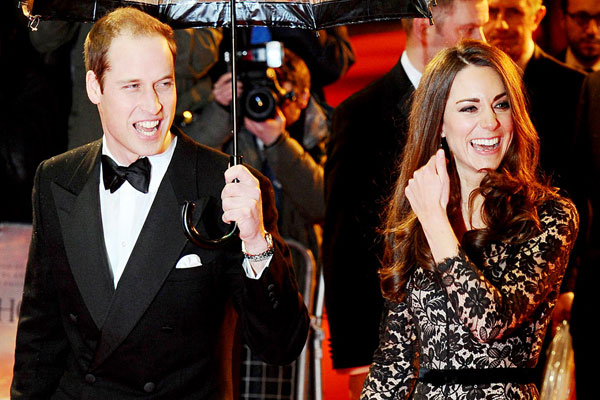 Prince William's sleepless night