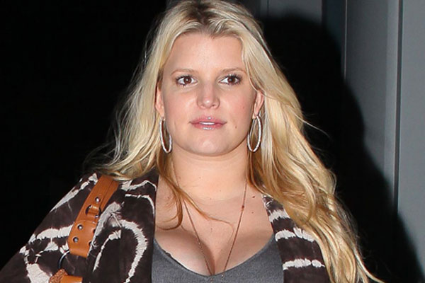 Jessica Simpson names her Godmother