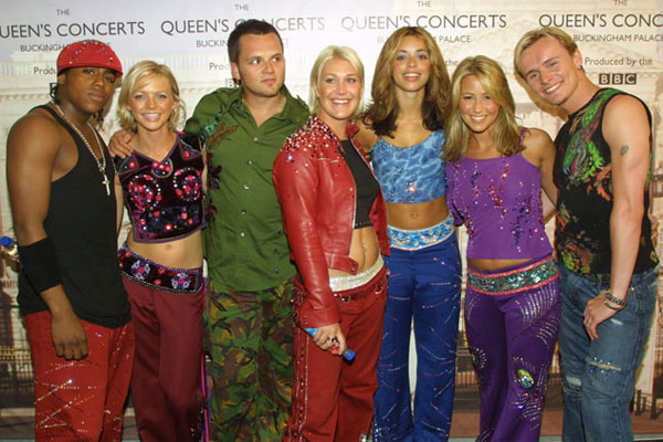 S Club make a sad return to Australian TV