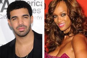 Drake and Tyra Banks
