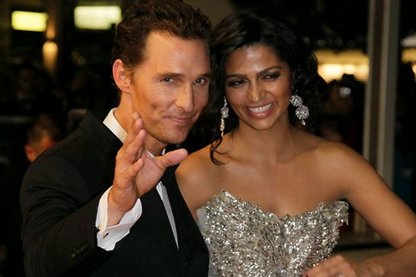 Matthew McConaughey is officially off the market