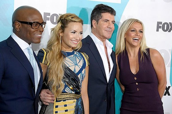 Demi & Britney storm out of X Factor auditions