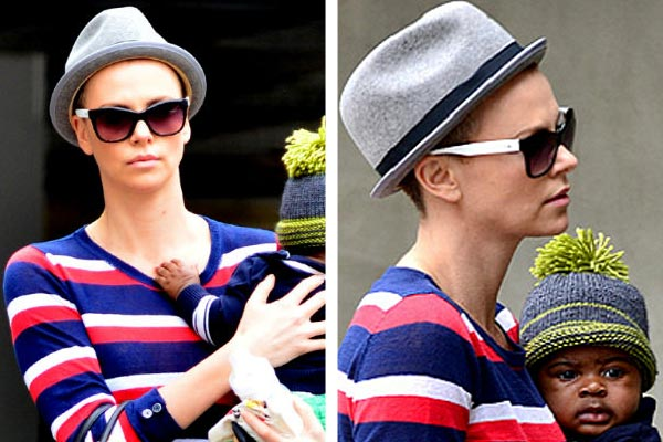 Charlize Theron has gone bald!