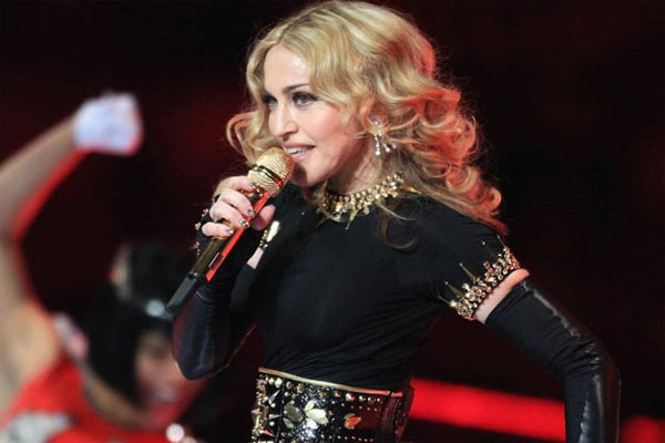 Desperate Madonna flashes her bits... Again!