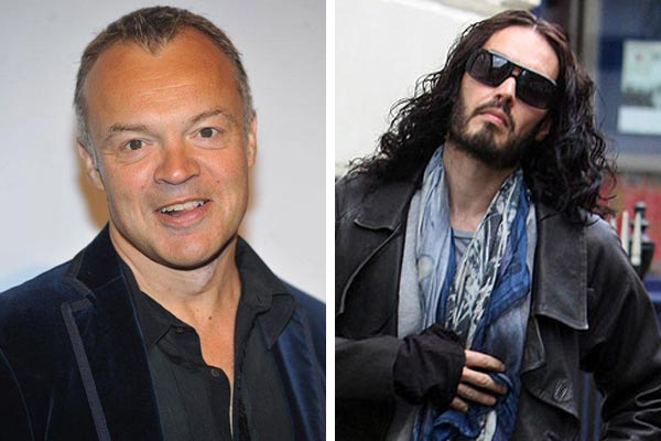 Russell Brand gets mad at Graham Norton
