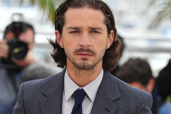 Shia LaBeouf strips down for a music video